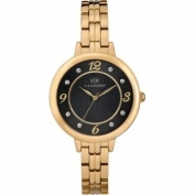 Timex Womens Gold-Tone Br...