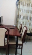 Fully Furnished studio apartment / flat with partition plus Net with Botim and DEWA included ALL